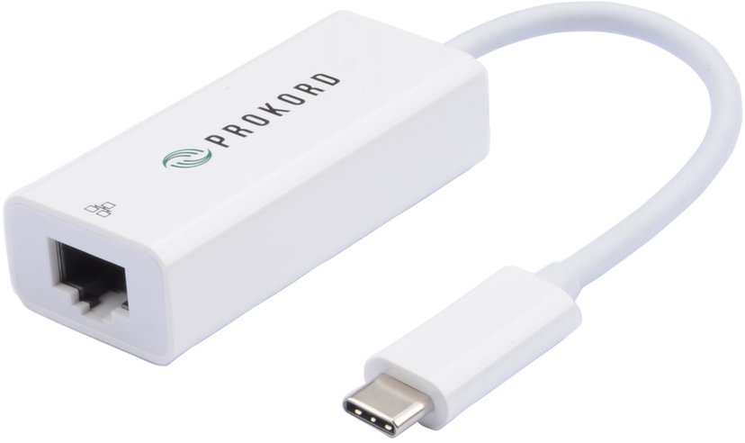 Prokord USB-C To Gigabit Ethernet Adapter