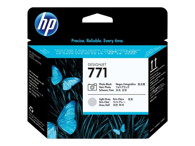 HP Skrivarhuvud 771 PHOTO Svart + LIGHT GRAY - DESIGNJET Z6200