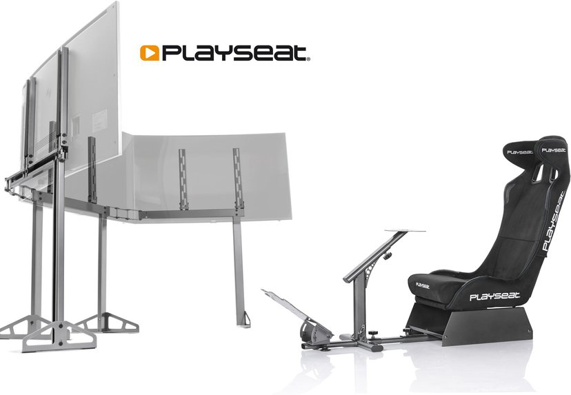 Playseat Evolution Pro Alcantara + TV Stand Pro/Pro 3S #Kit