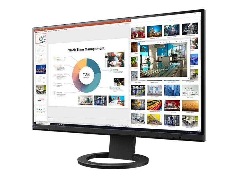 "EIZO FlexScan Ev2760 27"" LED IPS HDMI/DVI-D/VGA/DP Zwart 27"" 2560 x 1440 16:9"