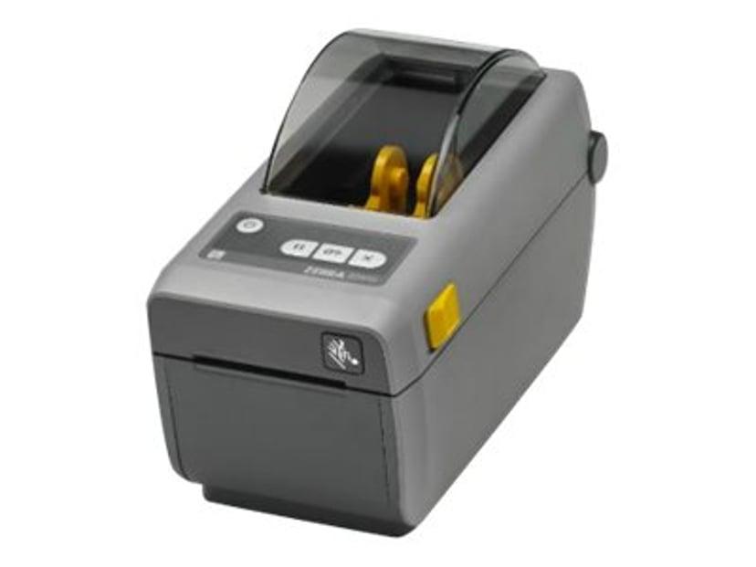 Zebra ZD410 DT 203dpi USB/BT (ios) Grå