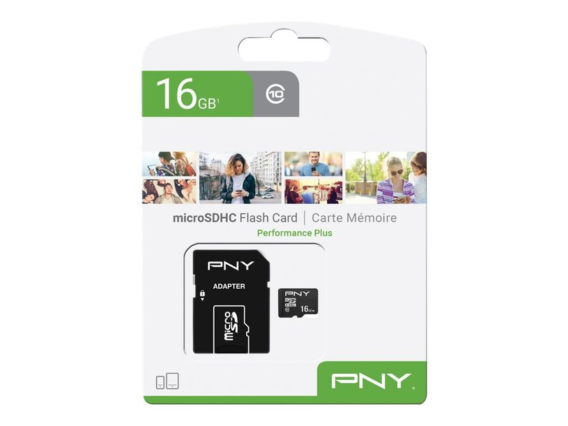 PNY Performance Plus 16GB microSDHC