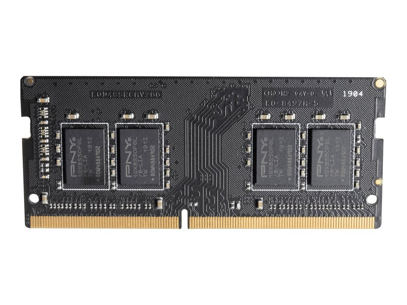 PNY DDR4 8GB 2,666MHz DDR4 SDRAM SO DIMM 260-pin