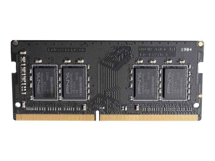 PNY DDR4 4GB 2,666MHz DDR4 SDRAM SO DIMM 260-pin