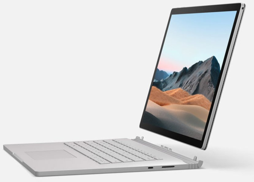 "Microsoft Surface Book 3 för företag GTX1650 Core i7 32GB 512GB SSD 13.5"""