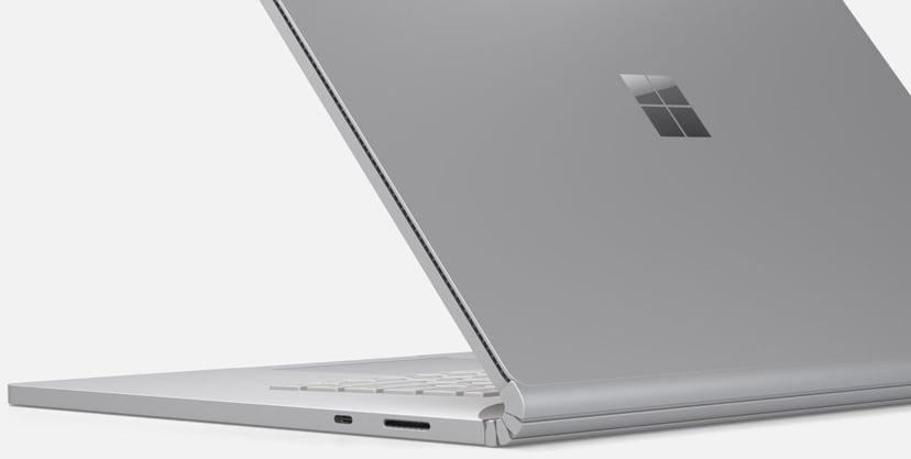 """Microsoft Surface Book 3 för företag GTX1650 13.5"""" Core i7 1,000GB Platina"""