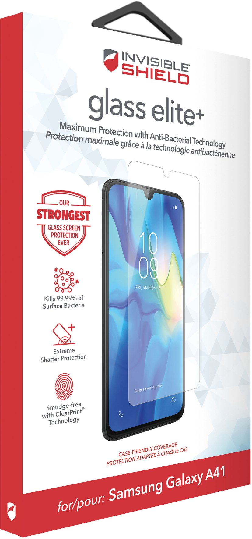 Zagg InvisibleShield Glass Elite+ Samsung Galaxy A41