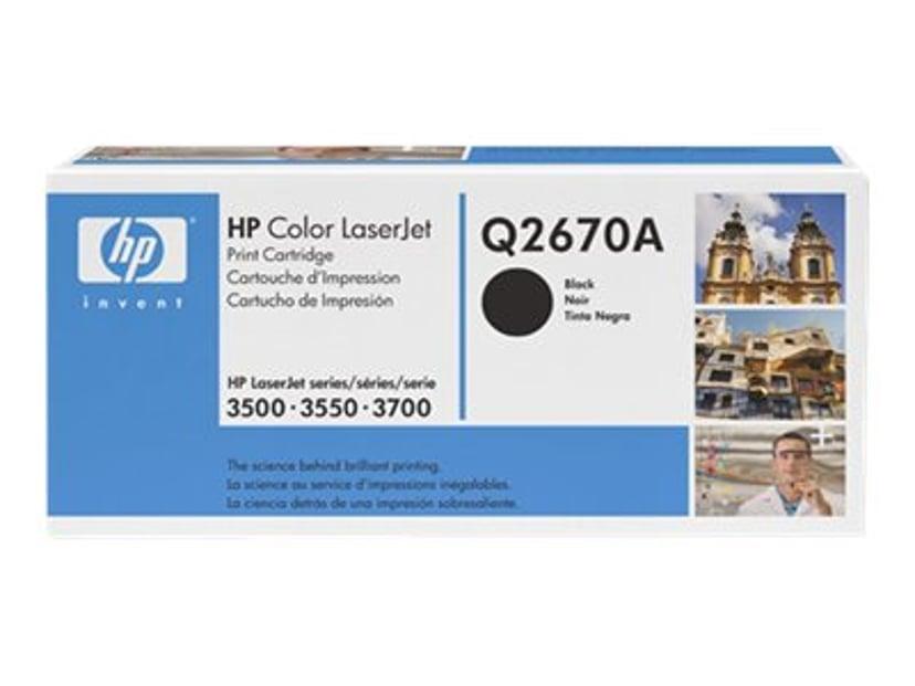 HP Toner Svart - CLJ 3500/3700
