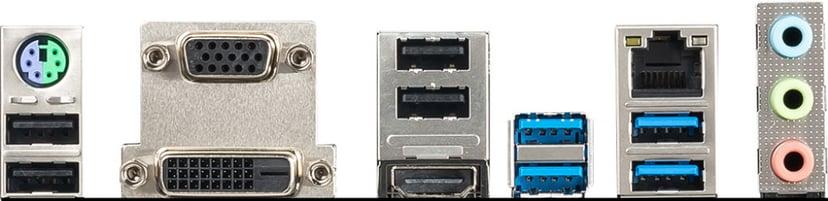 MSI B550M PRO-VDH WIFI Moderkort Micro ATX