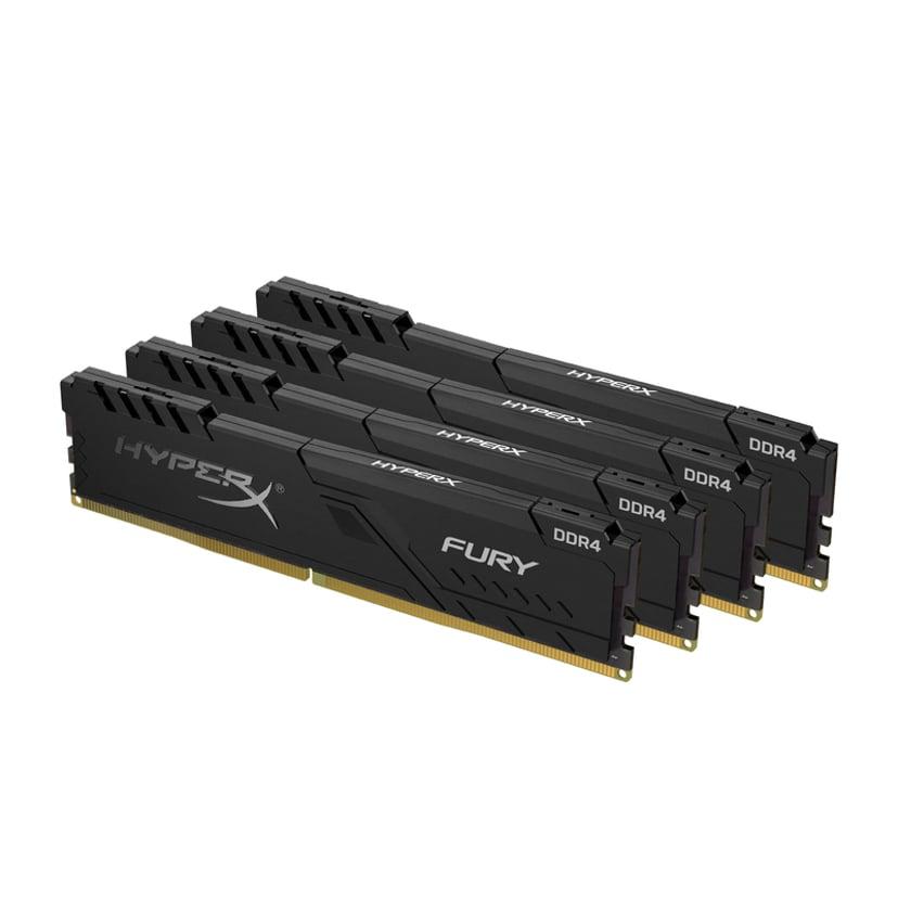 Kingston HyperX FURY 128GB 3,600MHz DDR4 SDRAM DIMM 288-pin
