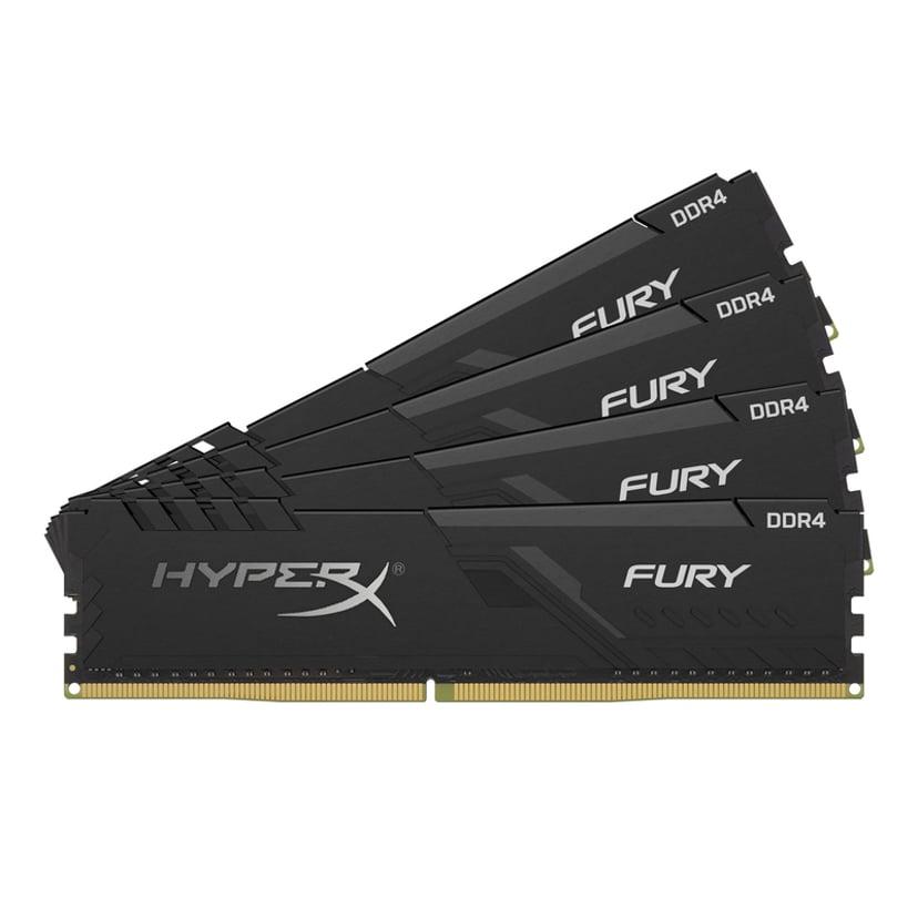 Kingston HyperX FURY 64GB 2,400MHz DDR4 SDRAM DIMM 288-pin