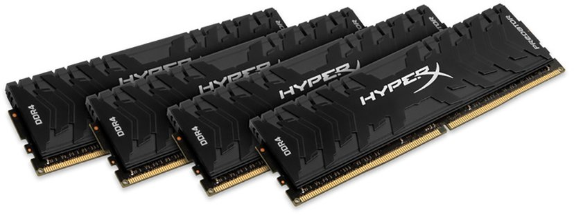 Kingston Hyperx Predator 128GB (4-Kit) DDR4 3200MHz CL16 Dim 128GB 3,200MHz DDR4 SDRAM DIMM 288 nastaa
