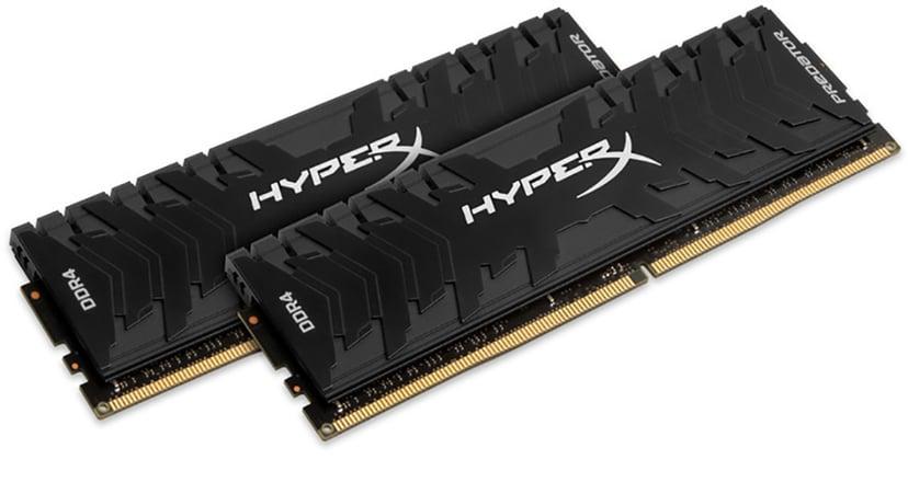 Kingston Hyperx Predator 16GB (2-Kit) DDR4 4000MHz CL19 DIMM 16GB 4,000MHz DDR4 SDRAM DIMM 288-pin
