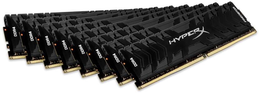 Kingston Hyperx Predator 256GB (8-Kit) DDR4 3200MHz CL16 Dim 256GB 3,200MHz DDR4 SDRAM DIMM 288-pin