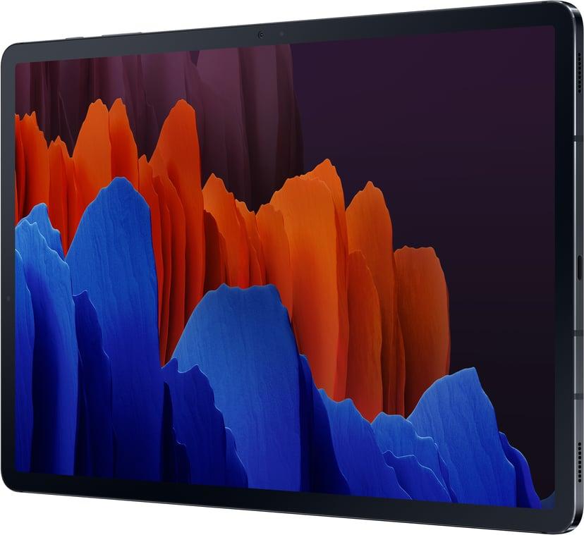 "Samsung Galaxy Tab S7+ 5G 12.4"" Snapdragon 865+ 128GB 6GB Mystisk svart"