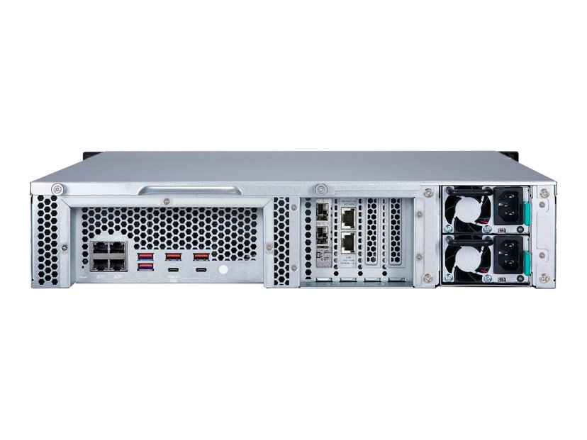 QNAP TS-H1283XU-RP QuTS Hero NAS 12-Bay