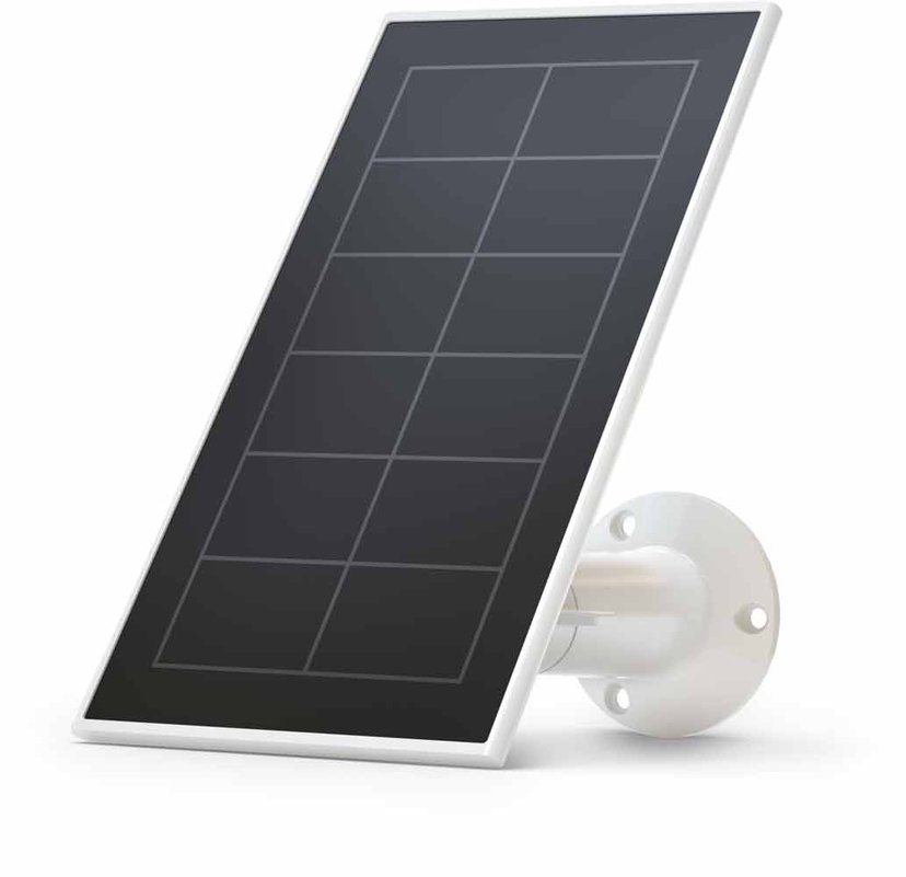 Arlo Essential Solar Panel Charger - Valkoinen