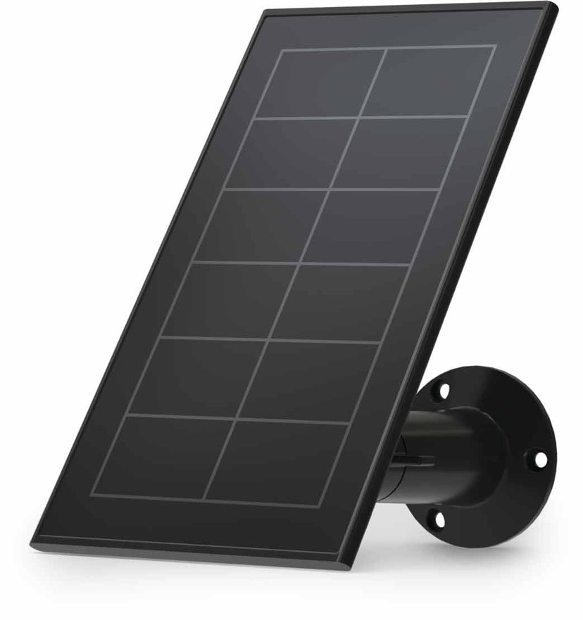 Arlo Essential Solar Panel Charger - Svart