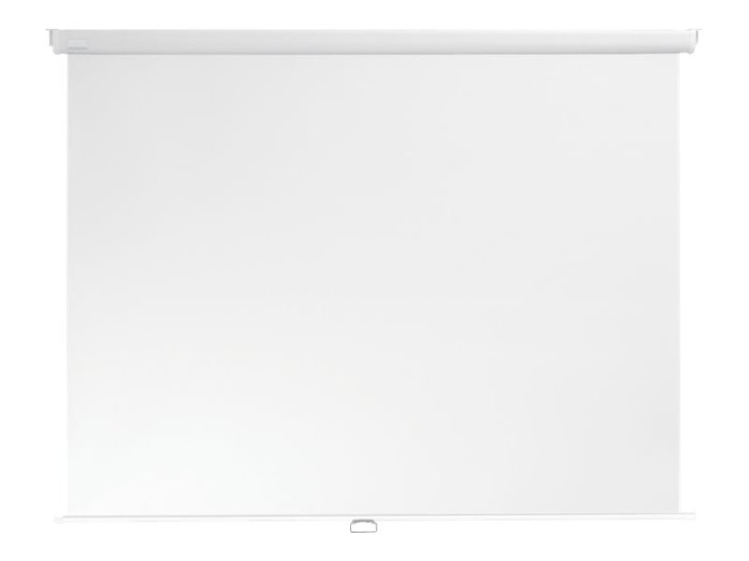 """Multibrackets M Manual Projection Screen 1:1 145x145 80"""" White Edition"""