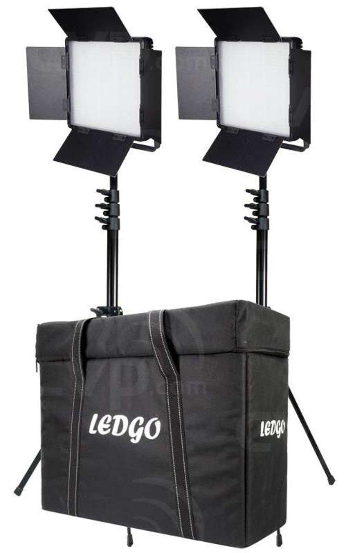 Ledgo LG-600CSCII Belysningskit Med 2 Lampor