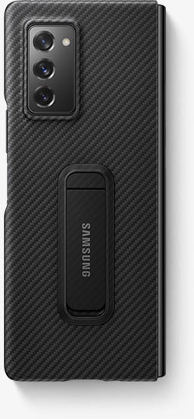 Samsung Aramid Standing Cover EF-XF916 Sort