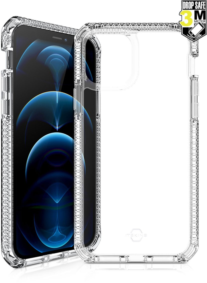 Cirafon Supreme Clear Drop Safe iPhone 12, iPhone 12 Pro Transparent