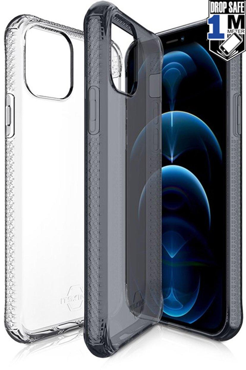 Cirafon Nano Clear Duo Drop Safe iPhone 12 Pro Max Gjennomskinnelig sort