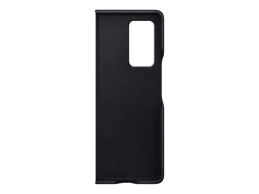 Samsung Leather Cover EF-VF916 Samsung Galaxy Z Fold2 Svart