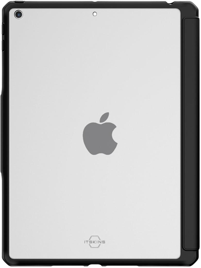 Cirafon Hybrid Solid Folio Drop Safe Svart iPad 7th gen (2019); iPad 8th gen (2020)