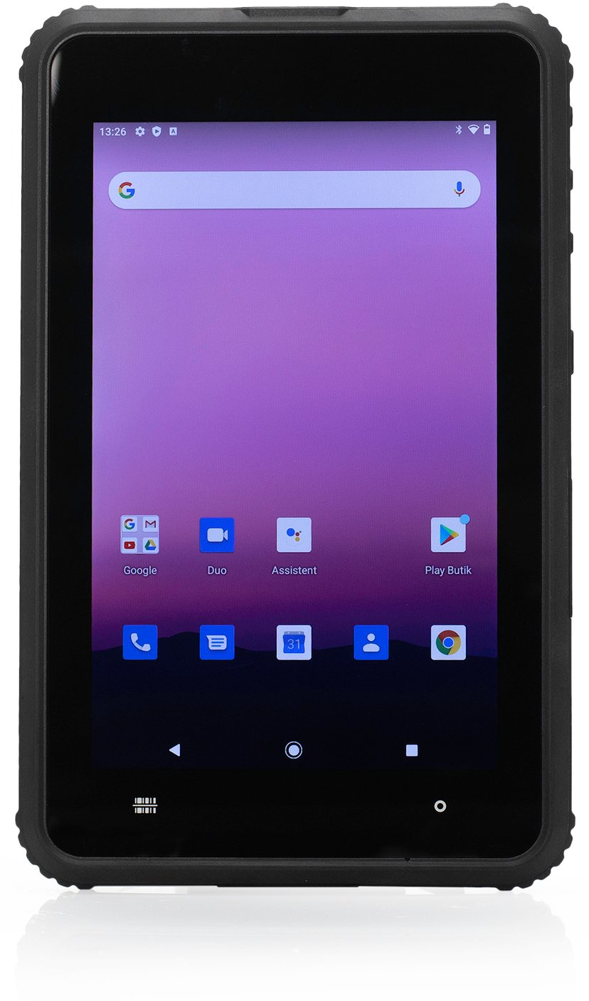 """Lamina ToughTab 8 Android 4G + Handstrap/Barcode/NFC Scanner 8"""" 64GB 4GB Sort"""