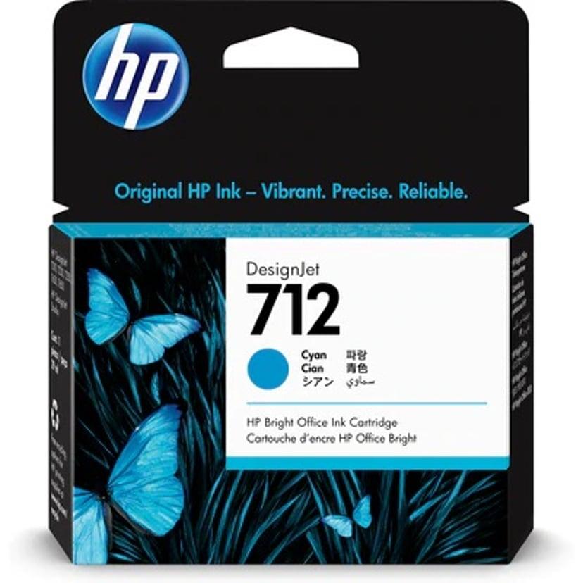 HP Blekk Cyan 712 29ml