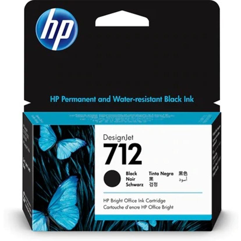 HP Blekk Svart 712 38ml