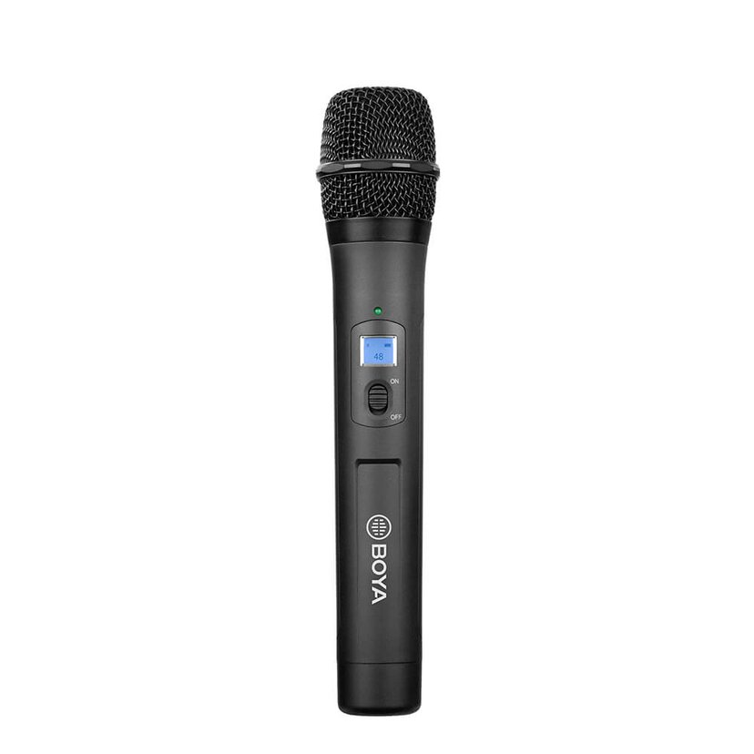 Boya BY-WHM8 Pro Wireless Handheld Microphone Sort