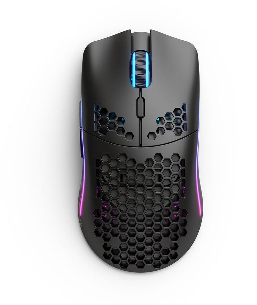 Glorious PC Gaming Race Model O Matte Wireless 19,000dpi Mus Trådløs Sort