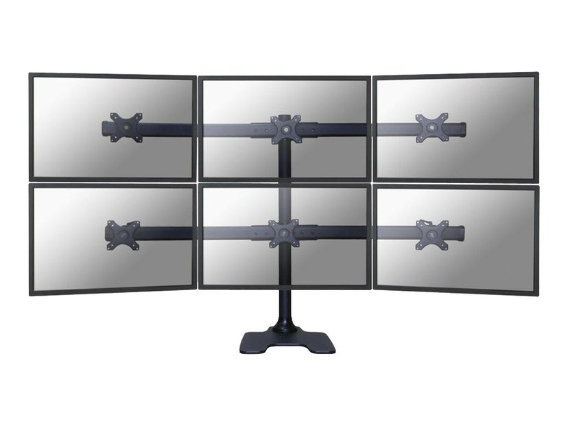 """Newstar Flat Screen Desk Mount Stand/Grommet 10-27"""""""