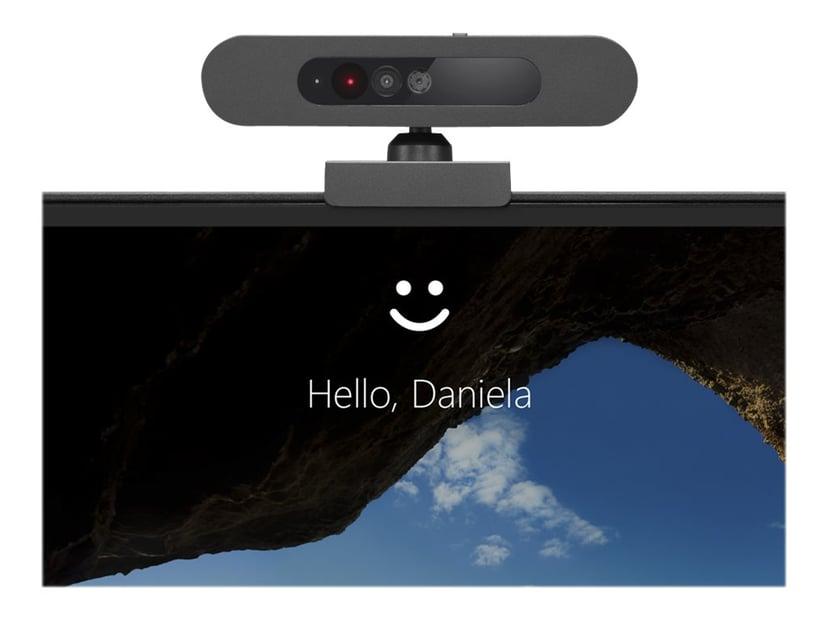 Lenovo 500 FHD 1920 x 1080 Webkamera Sort