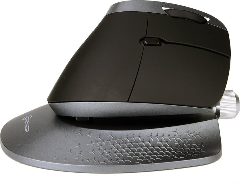 Voxicon Slim Metal Keyboard 290 Grey + Ergomouse M618x Nordisk