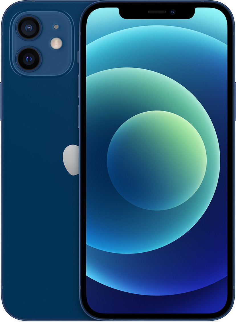 Apple iPhone 12 64GB Blå