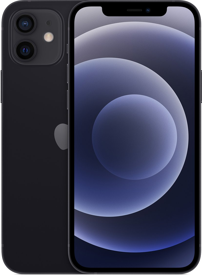 Apple iPhone 12 256GB Svart