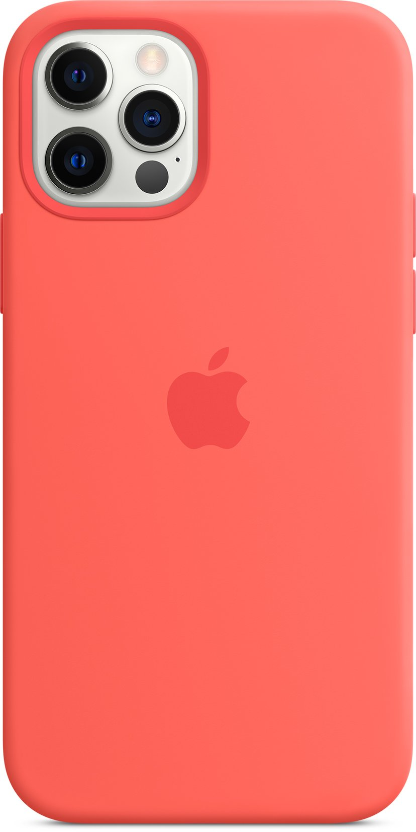 Apple Silicon Case with MagSafe iPhone 12, iPhone 12 Pro Rosa sitrus