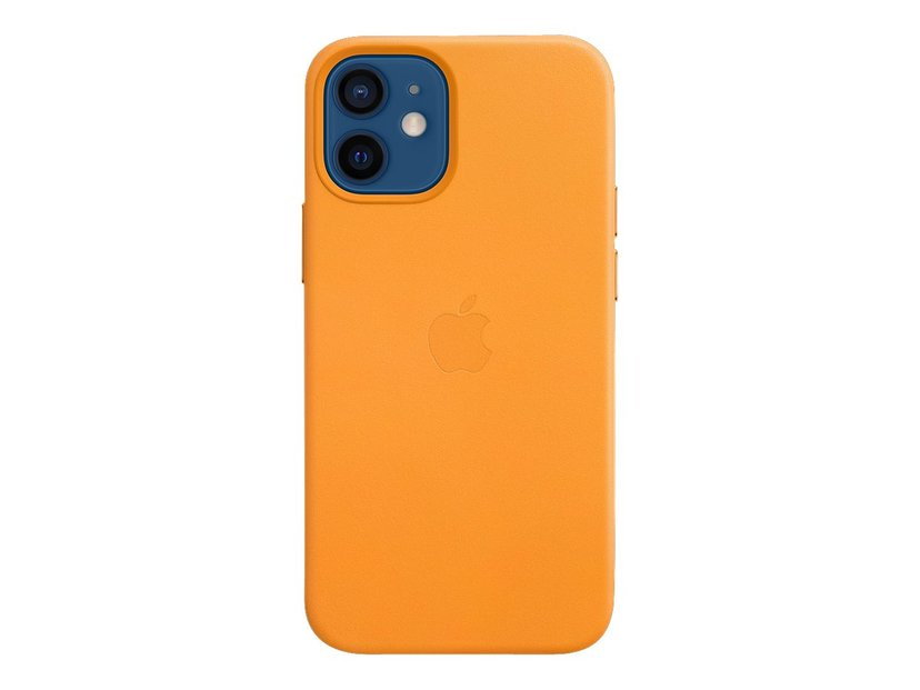 Apple Leather Case with MagSafe Vallmo från Kalifornien iPhone 12 Mini