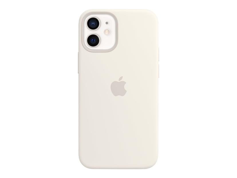 Apple Silicone Case with MagSafe iPhone 12 Mini Hvit
