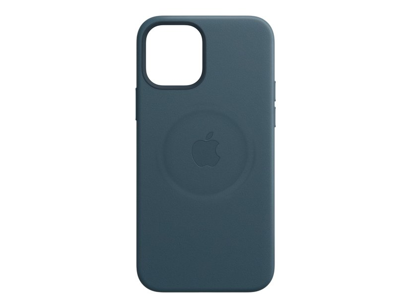 Apple Leather Case with MagSafe iPhone 12, iPhone 12 Pro Baltisch blauw