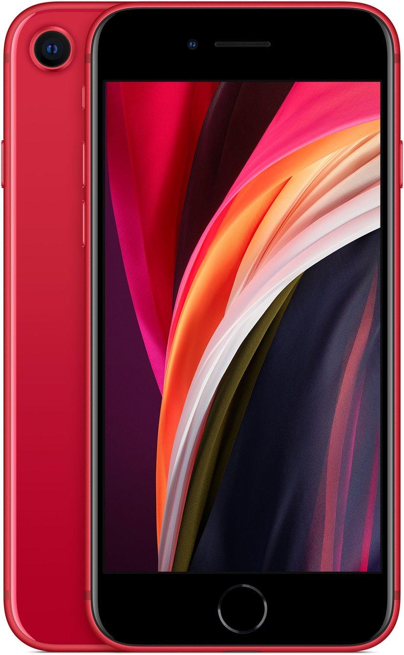 Apple iPhone SE (2020) 256GB Rød