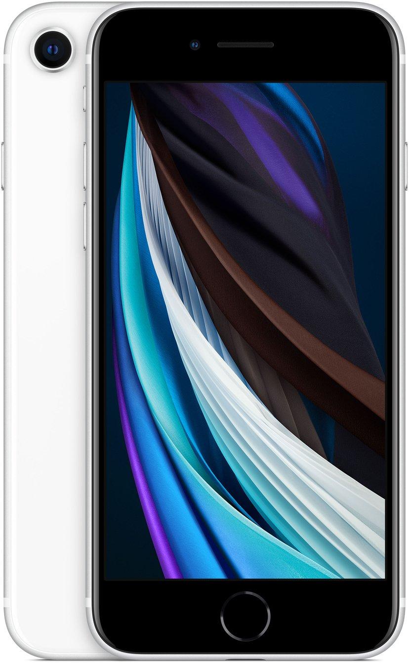 Apple iPhone SE (2020) 64GB Hvid