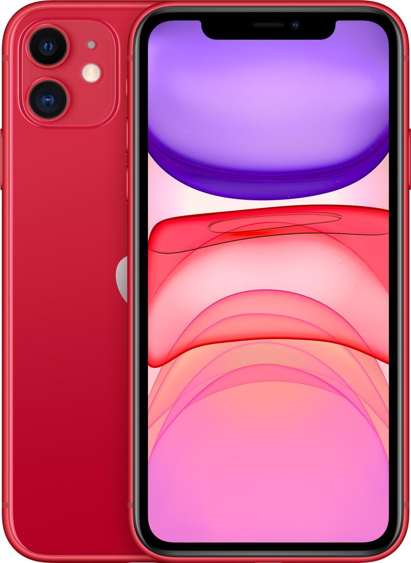 Apple iPhone 11 128GB Rød