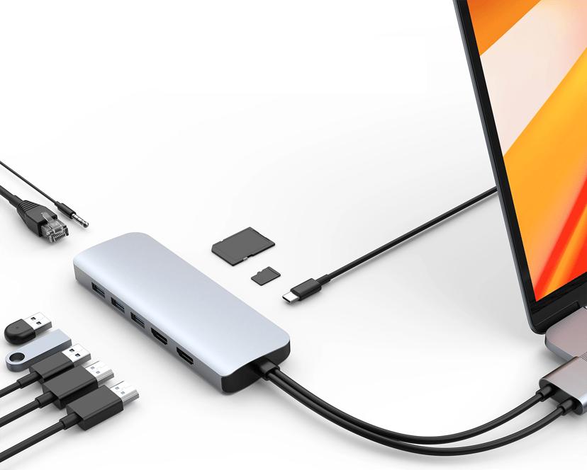 Hyper HyperDrive Viper 10-in-2 USB-C Mini-dockningsenhet