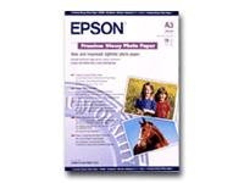 Epson Papir Photo Premium Glossy A3 20-Ark 255g