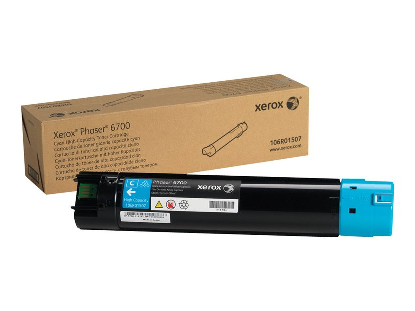 Xerox Toner Cyan 12k - Phaser 6700