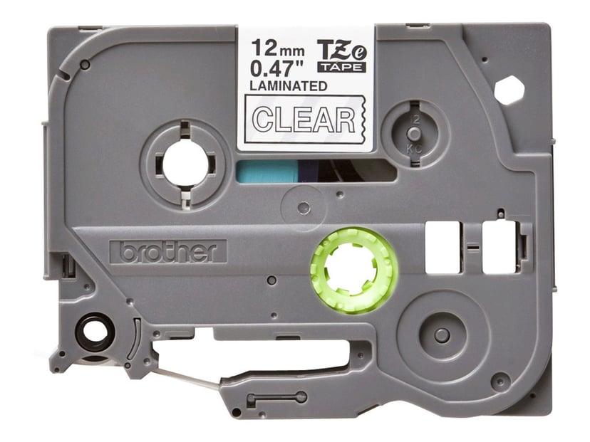 Brother Tape TZE-135 12mm Hvid/Transparent